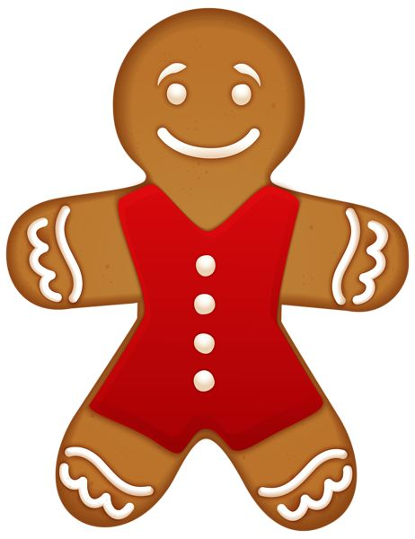 462x600 219 Best Gingerbread Clip Images Wish You Merry