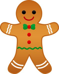236x293 Gingerbread Man Clip Art Free Clipart Panda
