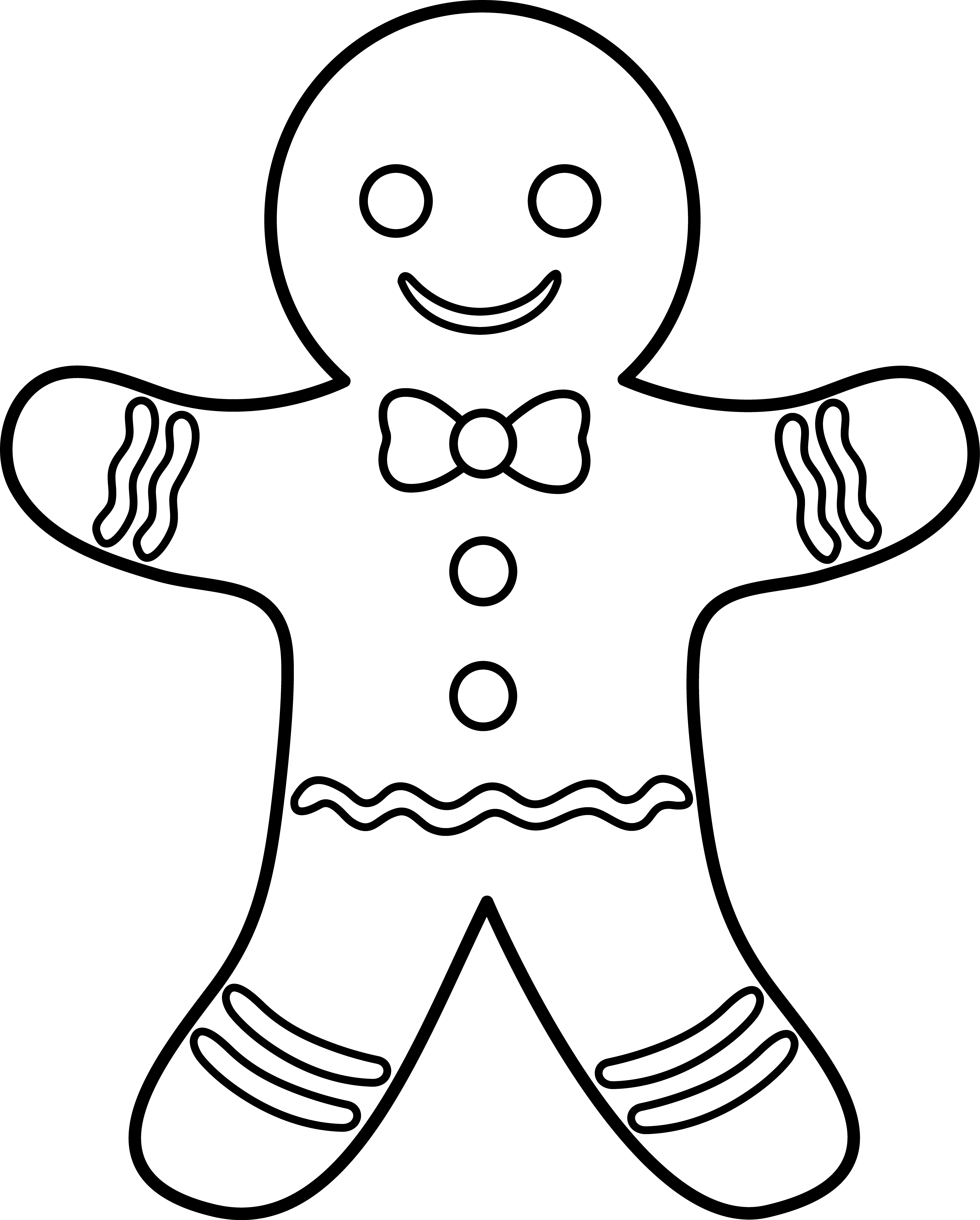 5208x6484 Gingerbread Man Art
