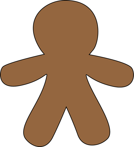 455x500 Gingerbread Man Gallery Free Clipart Pictures