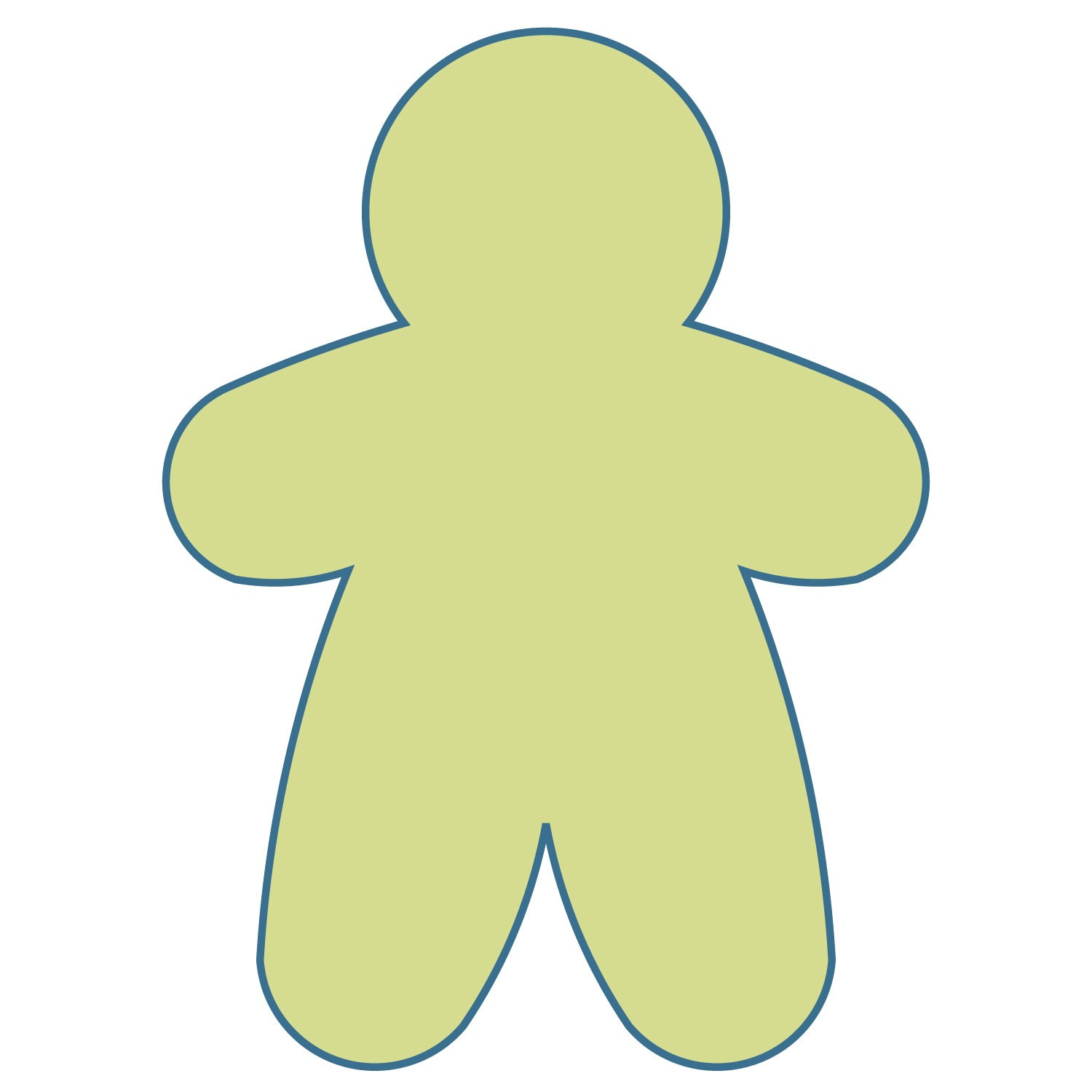 Ginger Bread Man Outline Free Download Best Ginger Bread Man
