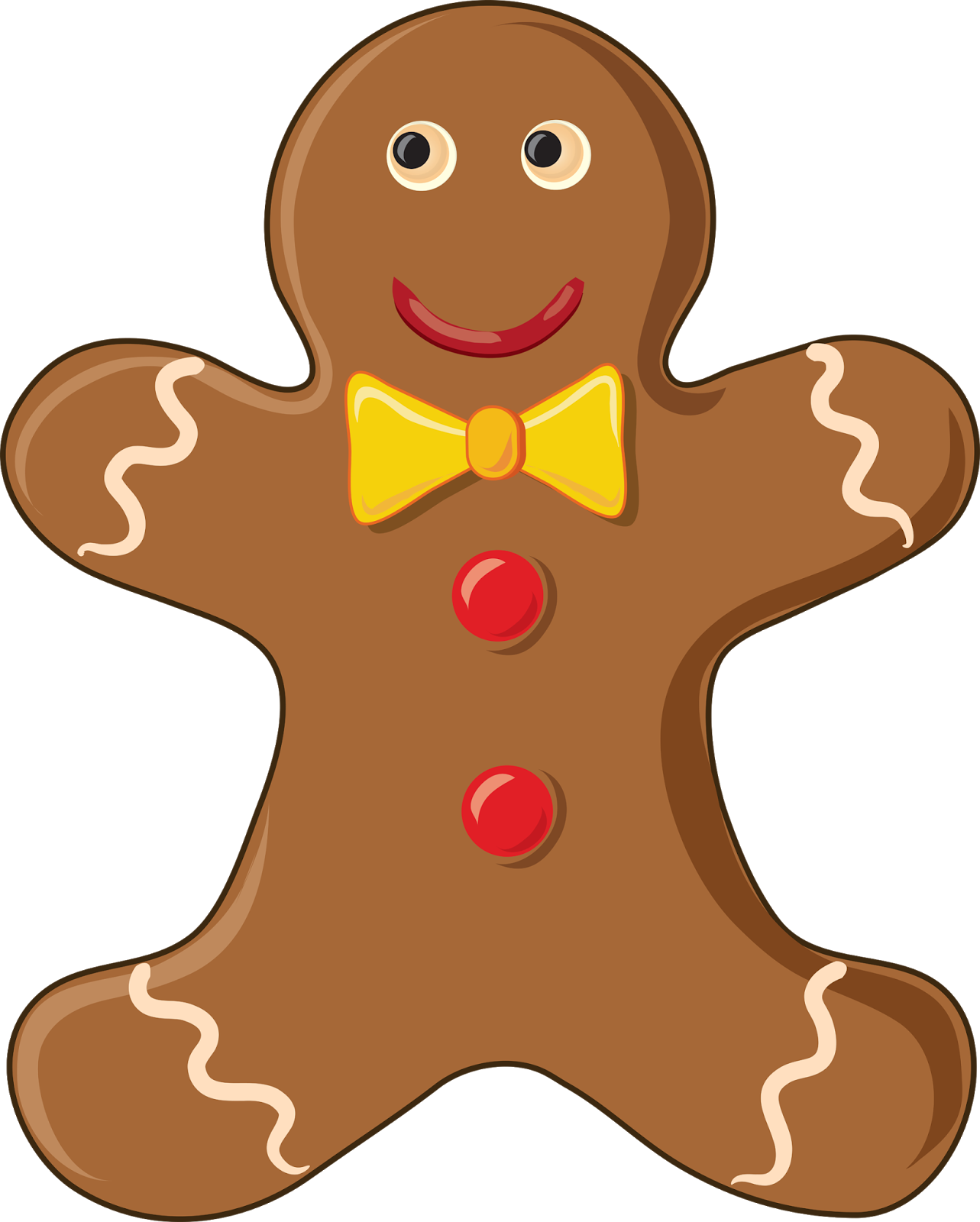 1283x1600 Funny Gingerbread Man Clipart Kid