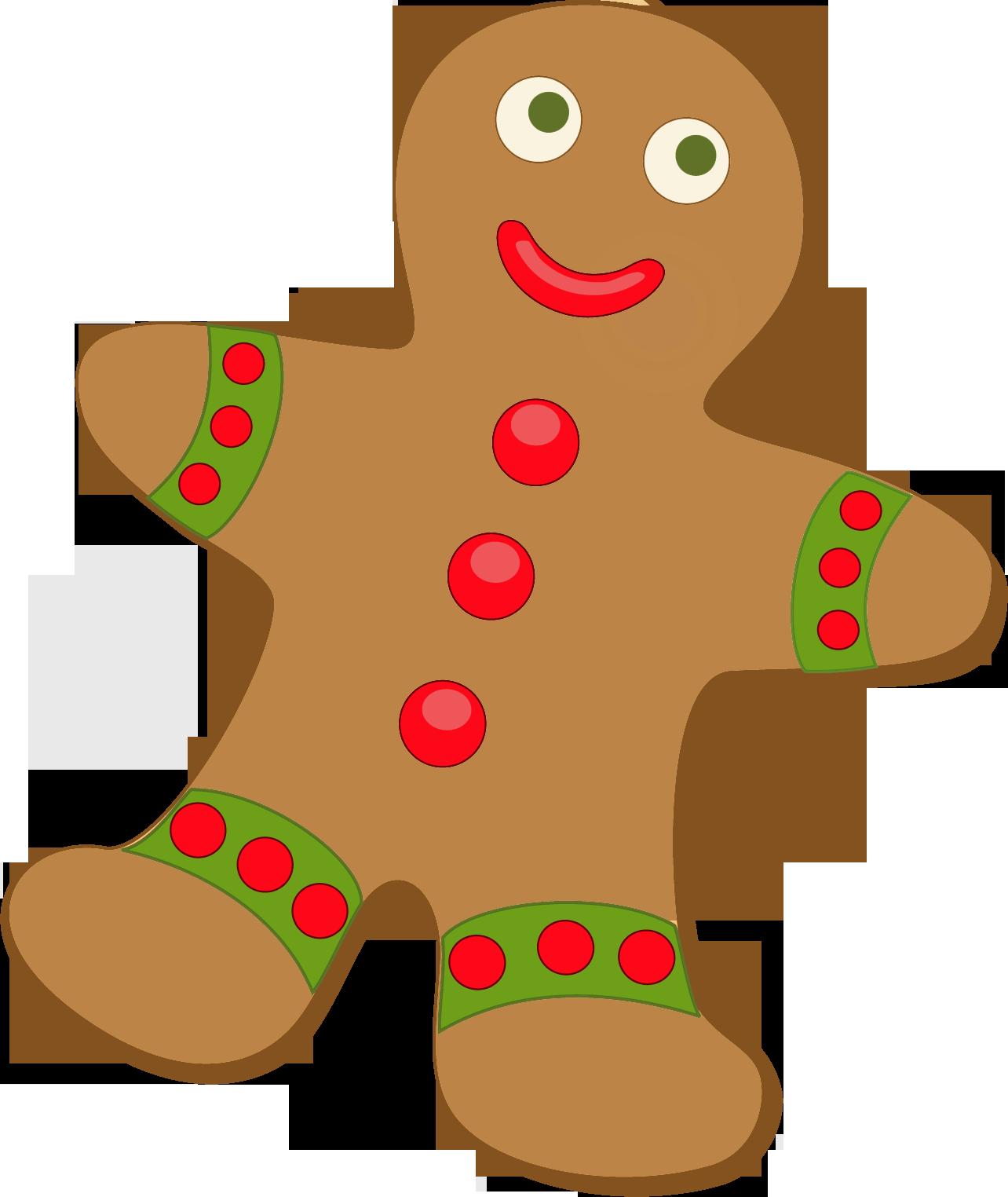 1284x1524 Gingerbread Clip Art