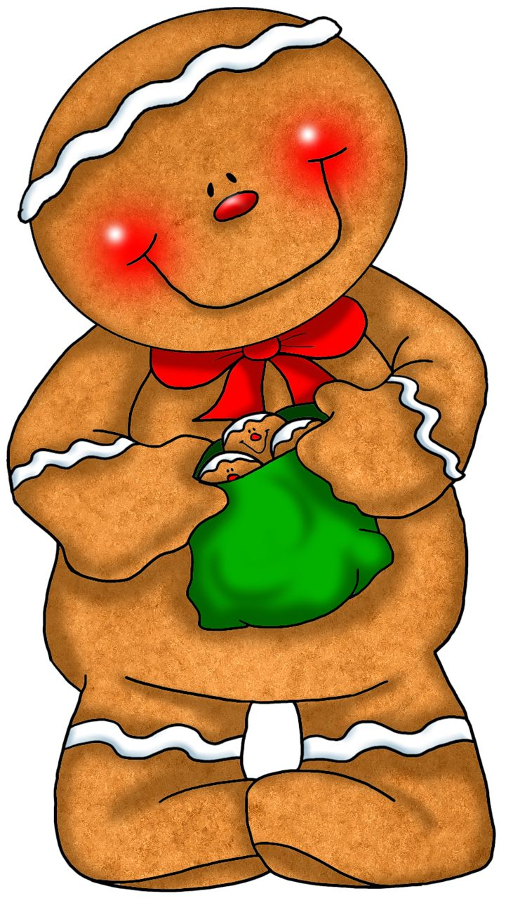 721x1280 Gingerbread Clipart Chef