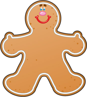350x392 Giffen2 [Licensed For Non Commercial Use Only] Gingerbread Man Page