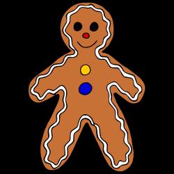 250x250 Christmas Gingerbread Man Clip Art Clip Art Gingerbread Image 2