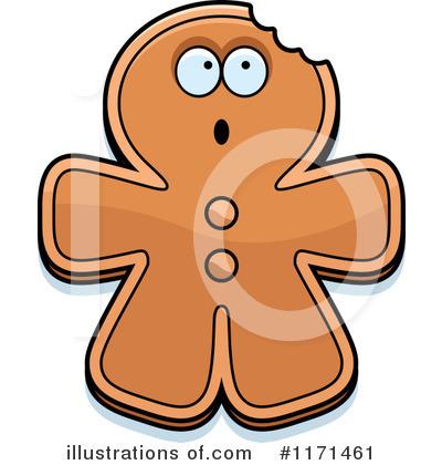 400x420 Gingerbread Man Clipart