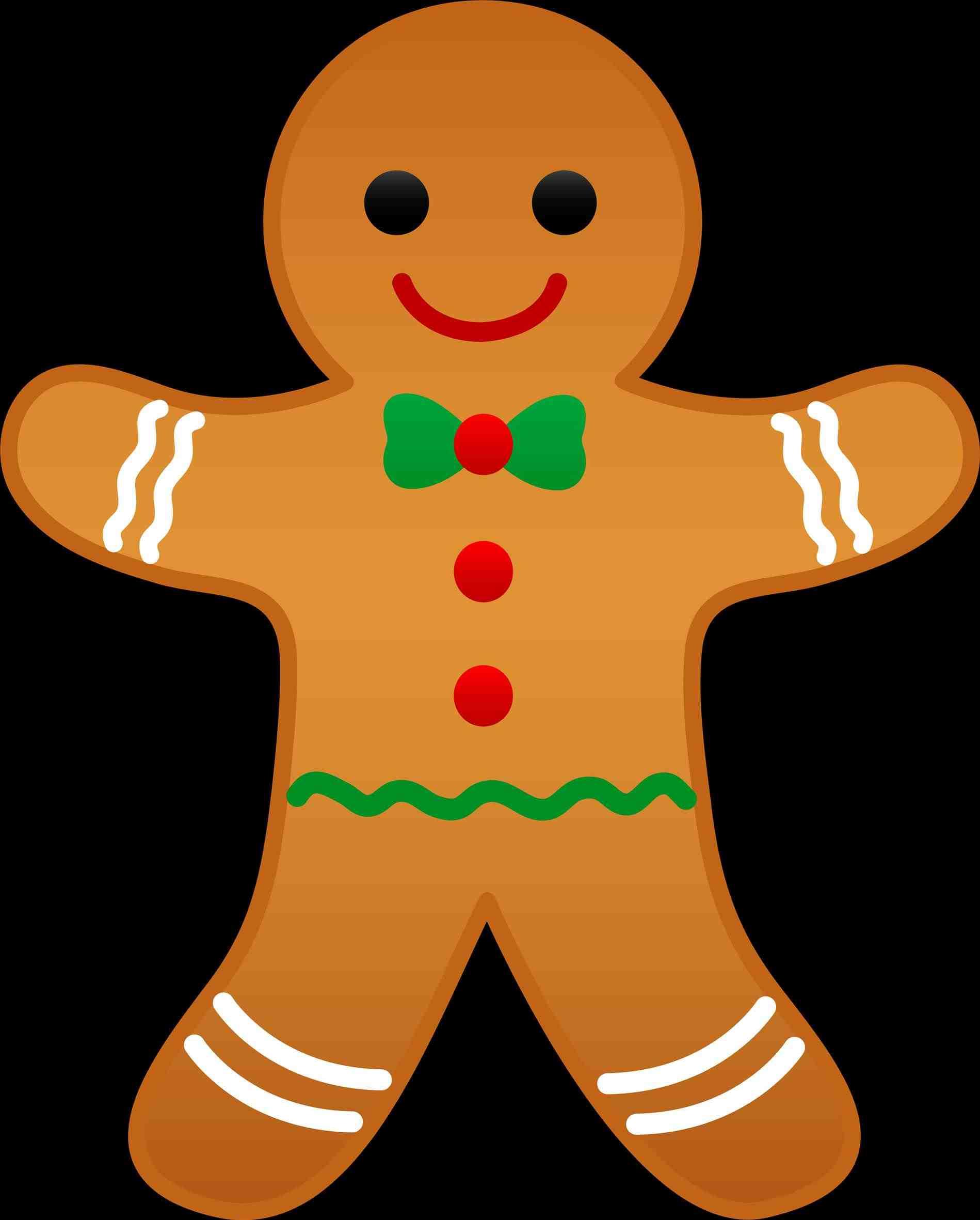 1899x2363 Clip Christmas Gingerbread Man Clipart Art Cards Elements Pat