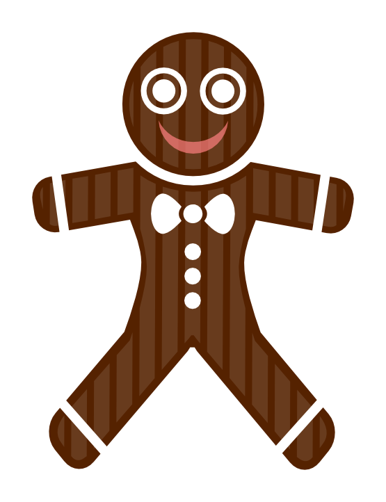 555x722 Free To Use Amp Public Domain Gingerbread Man Clip Art