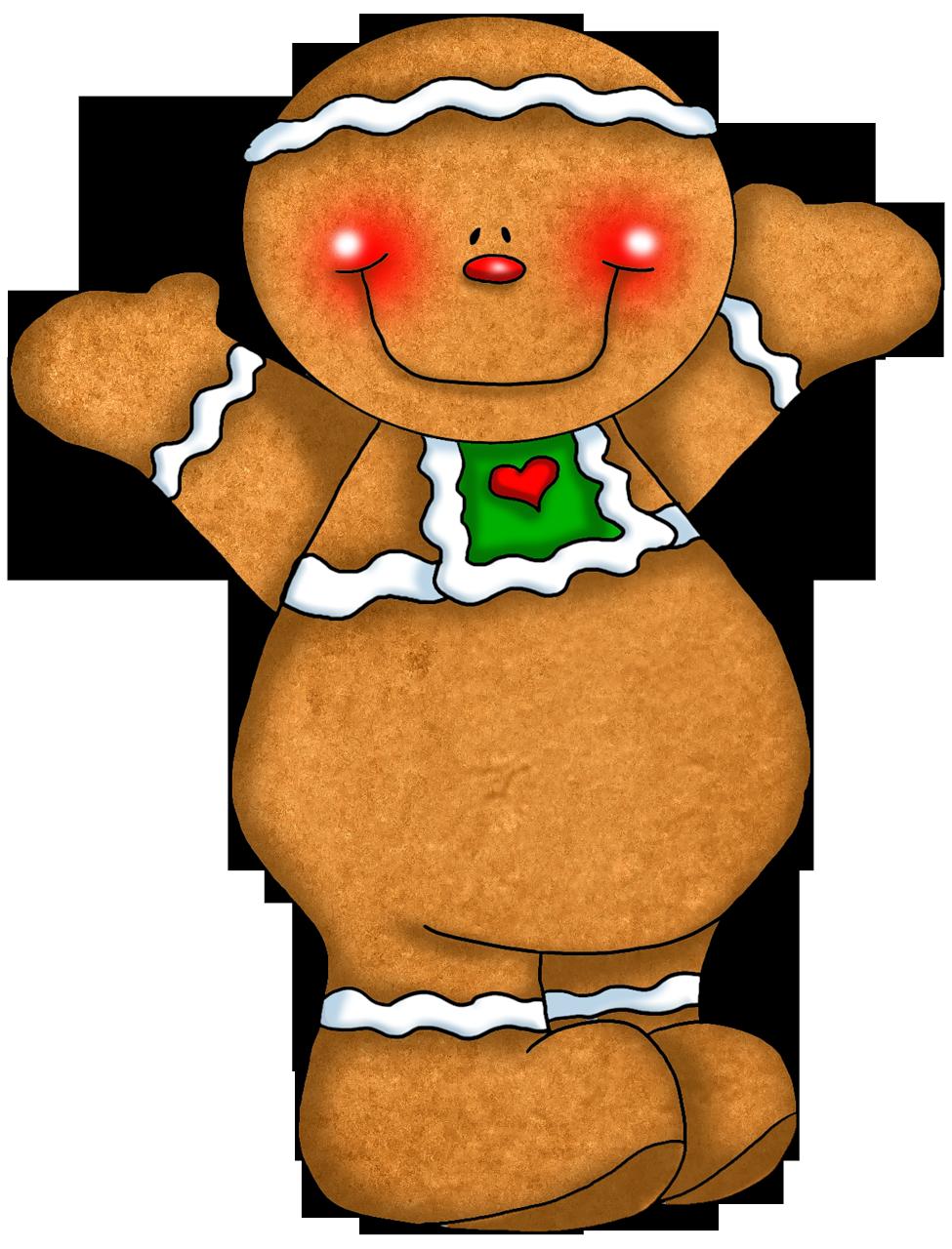 975x1280 Gingerbread Clipart