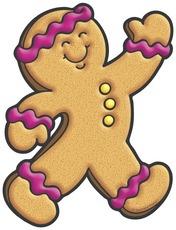 176x230 Gingerbread Man Clip Art Free Clipart Panda