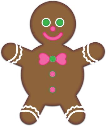 340x405 Gingerbread Clipart Gingerbread Boy