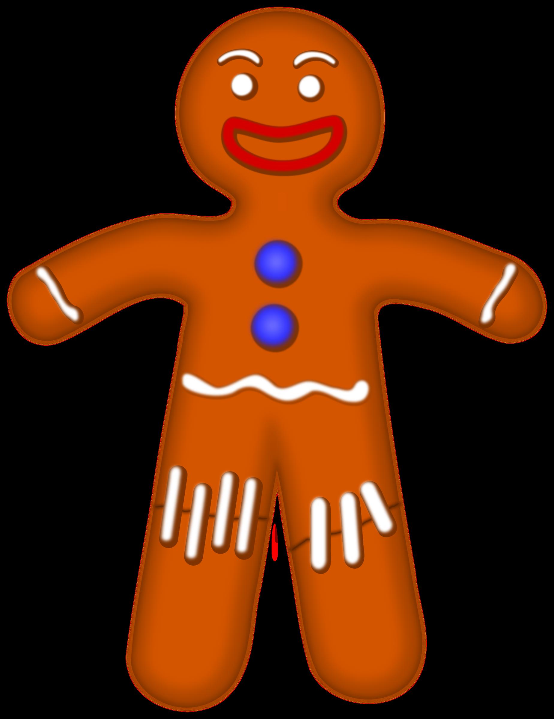 1848x2400 Gingerbread Clipart Wmf