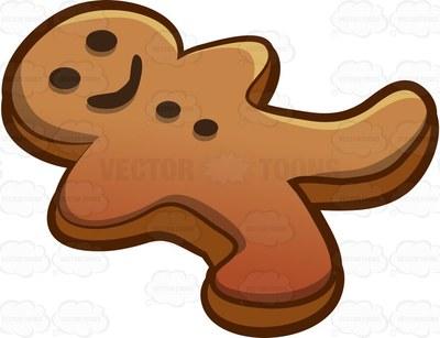 400x307 Baking Clipart Gingerbread Man