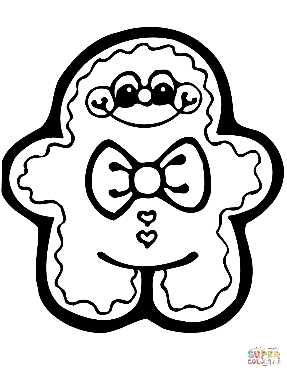 1005x1300 gingerbread man coloring page ppinews co