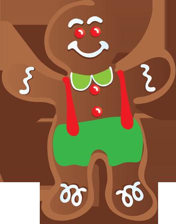 354x450 Clip Art Gingerbread Cookies Clipart