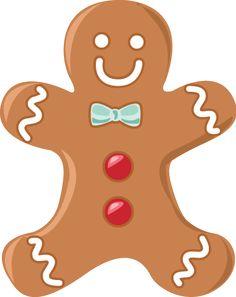 236x297 Gingerbread Man Clip Art Navidad Gingerbread Man