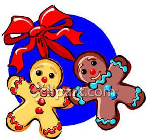 300x276 Gingerbread Man Clip Art Free Clipart Panda