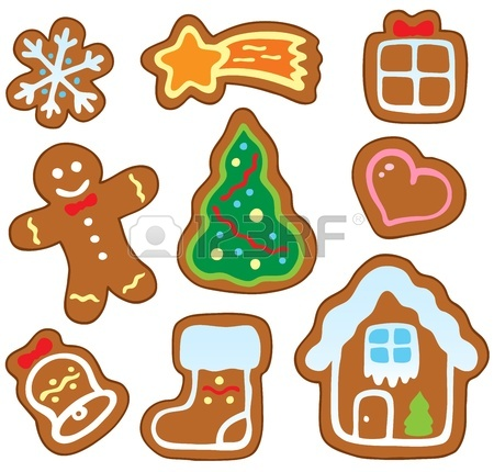 450x430 Gingerbread Clipart Cookie Exchange