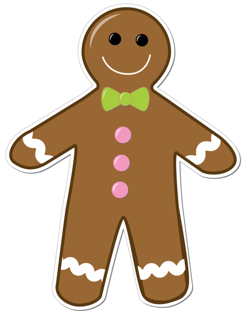 830x1061 Cookie Clipart Gingerbread Person