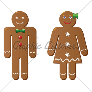 325x325 Gingerbread Cookies Gl Stock Images