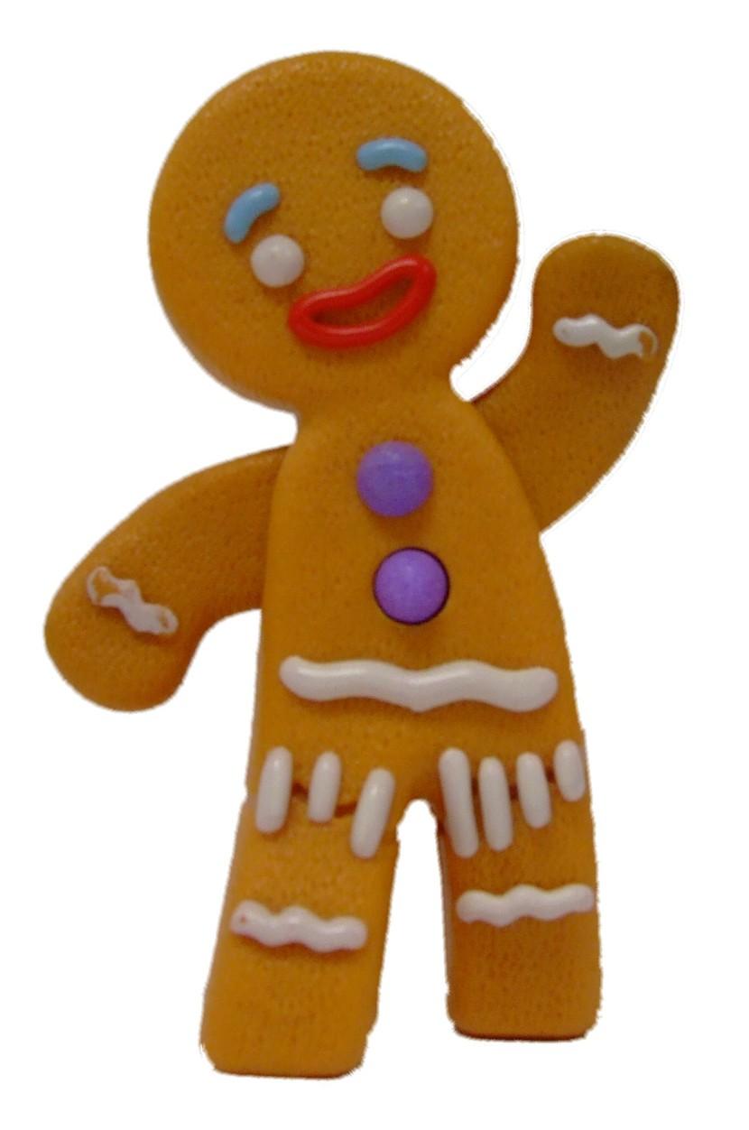 830x1252 Gingerbread Man Clipart