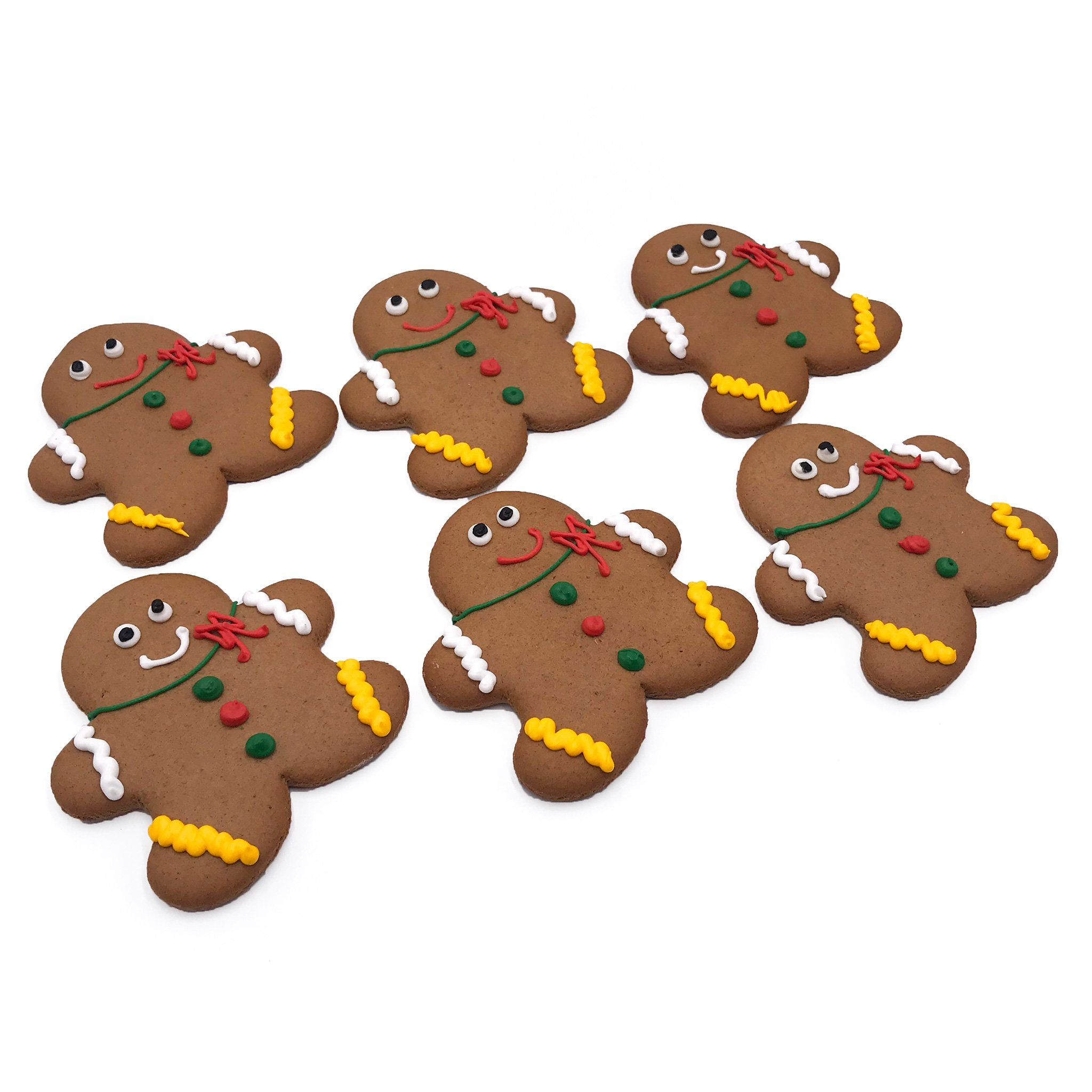 2048x2048 Gingerbread Men