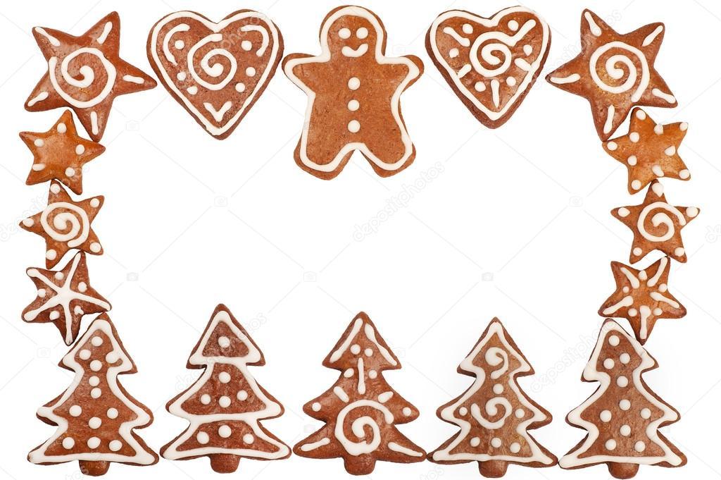 1024x681 Gingerbread Cookies Border Stock Photo Mholka