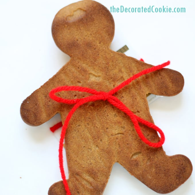 680x680 A Gingerbread Man Gift Card Holder, A No Spread Gingerbread Cookie