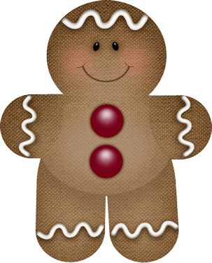 303x376 219 Best Gingerbread Clip Images Wish You Merry