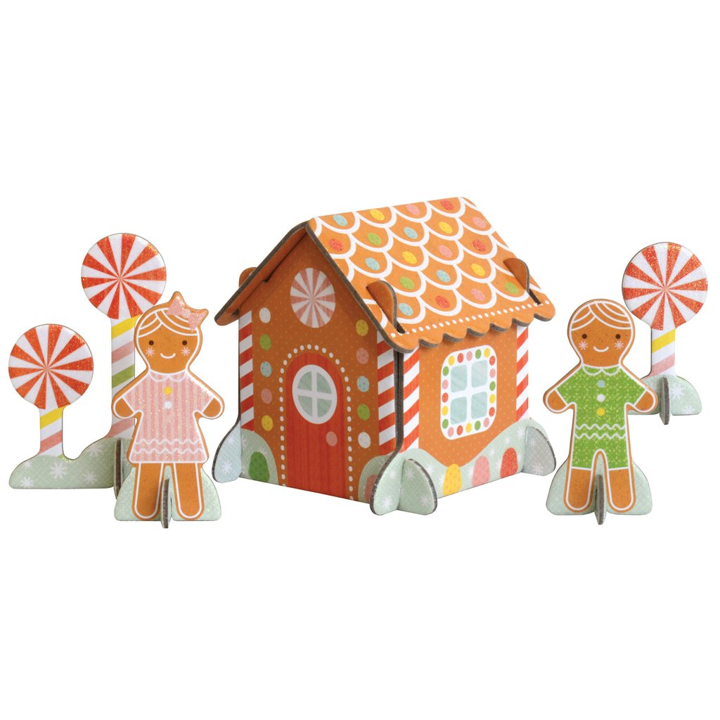 1024x1024 Gingerbread House Pop Out And Build Playset Petit Collage