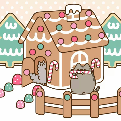 500x500 Gingerbread House Clipart Background