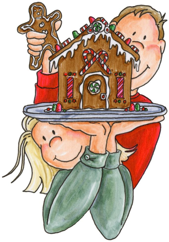 Gingerbread House Clipart Free