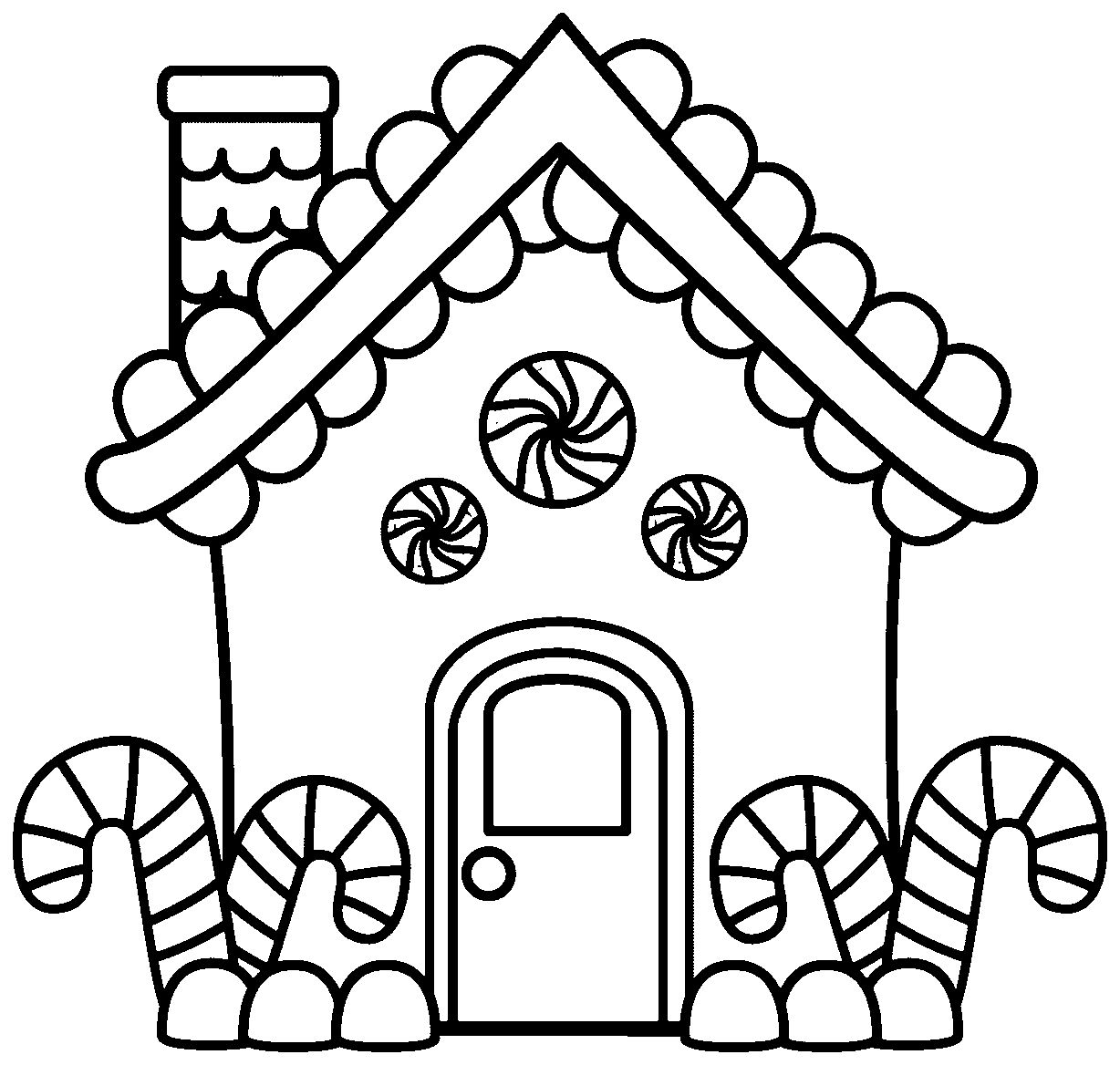 1228x1168 gingerbread house coloring page ppinews co