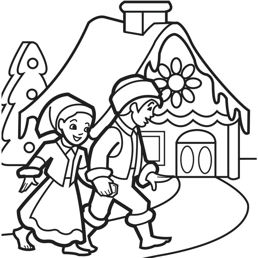 842x842 Gingerbread House Coloring Sheets Free Gingerbread House Coloring