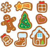 170x163 Gingerbread Cookie Clip Art