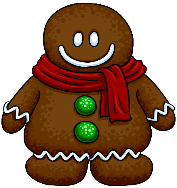 615x654 Gingerbread Cookie Costume Club Penguin Wiki Fandom Powered By