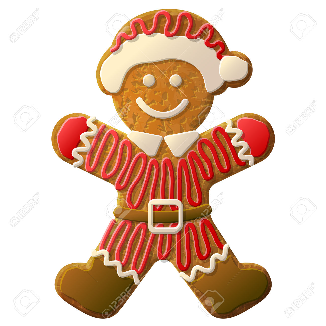 1300x1300 Gingerbread Clipart Shape