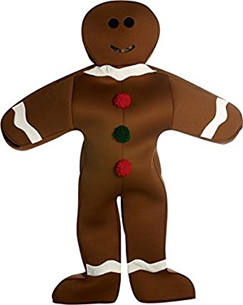 342x430 Gingerbread Man Clothing