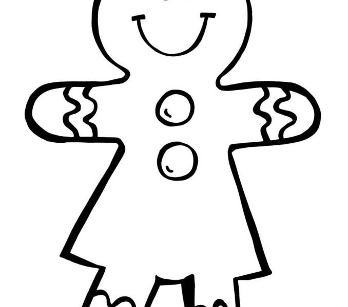 678x600 Gingerbread Man Coloring Page Best Coloring Pages