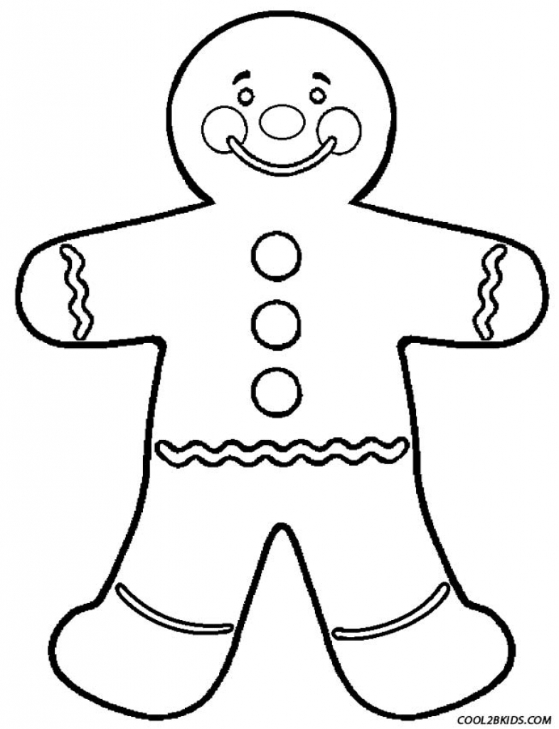 786x1024 The Amazing Along With Interesting Gingerbread Man Coloring Page