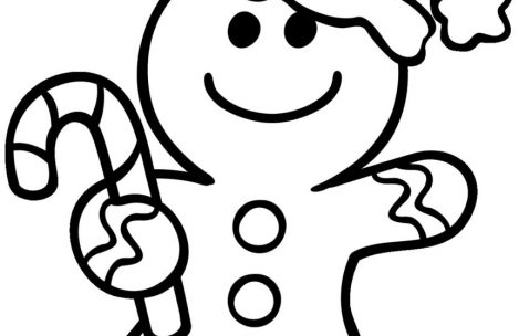 469x304 Gingerbread Man Coloring Pages Just Colorings