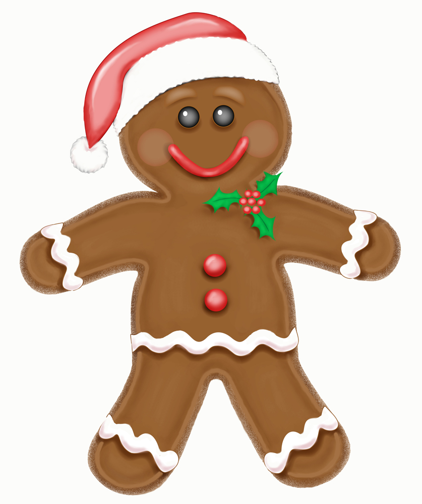 Gingerbread Men Clipart