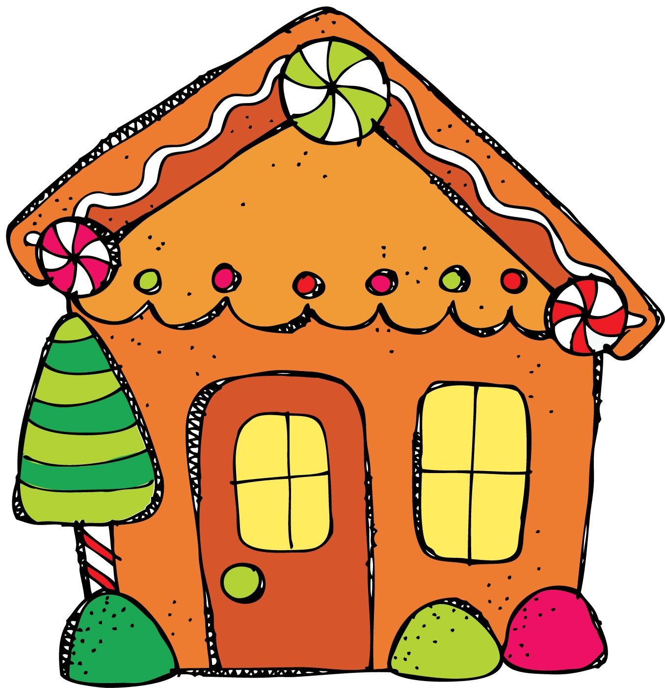 1355x1402 Gingerbread Man House Clipart