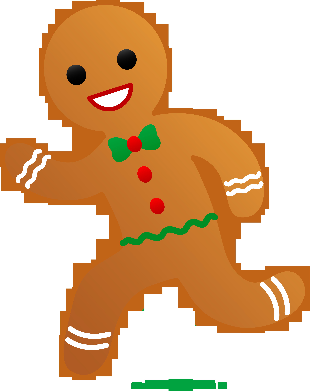 4739x6000 Gingerbread Man Running Away