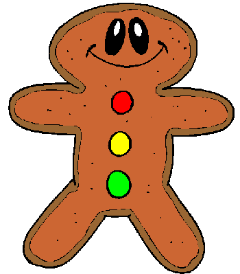 350x399 Gingerbread Man Clipart Clipartmonk