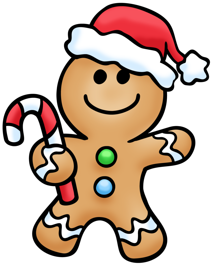 830x1042 Gingerbread Man Clipart 2