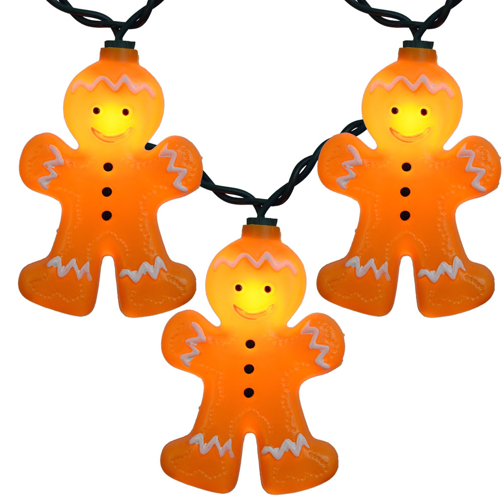 1000x1000 Gingerbread Man Christmas Novelty Lights