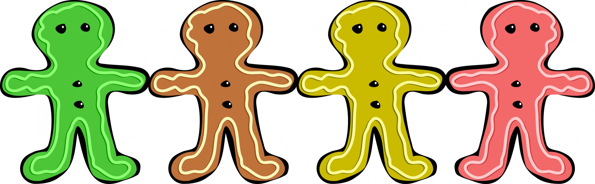 1920x595 Gingerbread Man Free Stock Photo