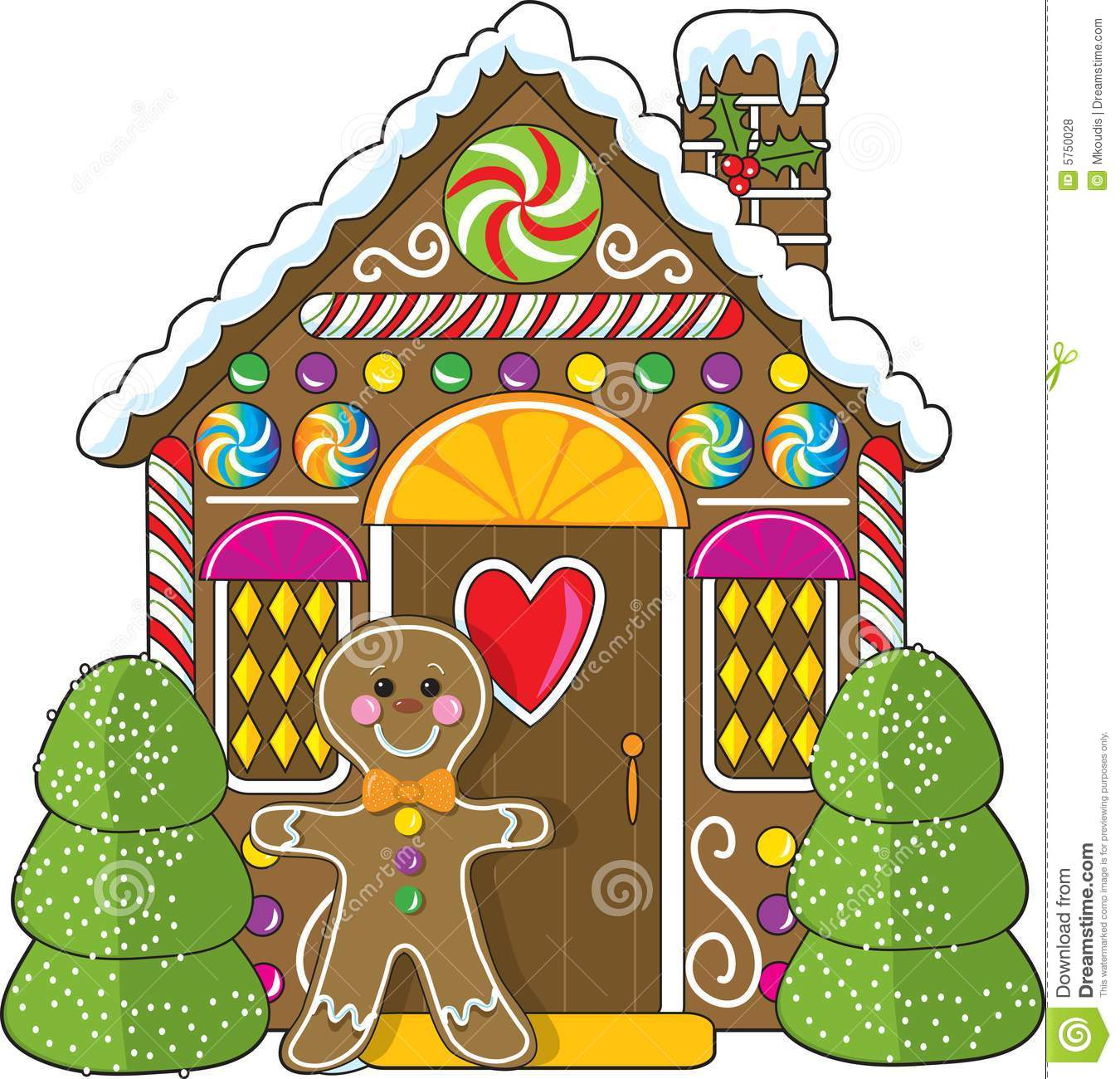 1350x1300 Top 79 Gingerbread Clip Art